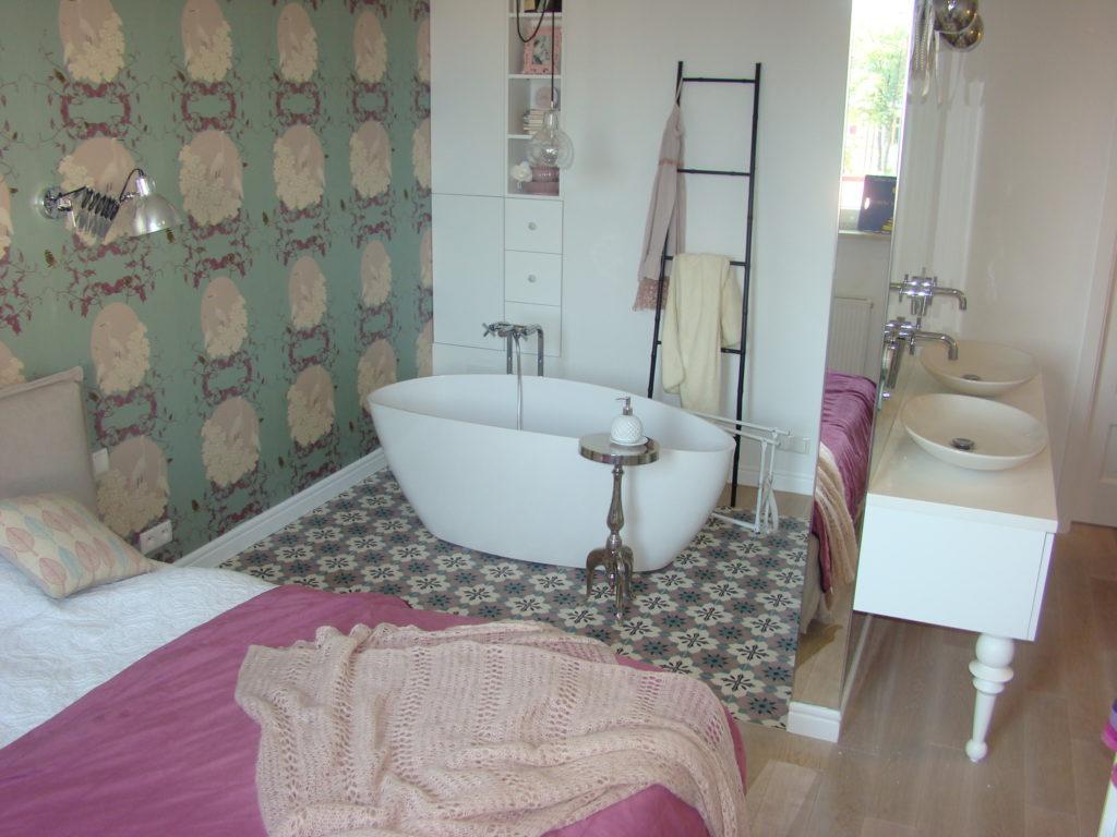 łazienka romantyczki
